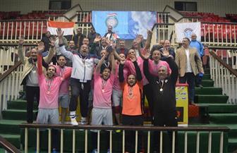 منتخب جامعة أسيوط لكرة القدم الخماسية يفوز بكأس دوري المصالح الحكومية | صور