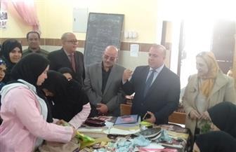 عبد الرءوف وقيادات بالتعليم يتفقدون سير العملية التعليمية بمدارس المنصورة | صور