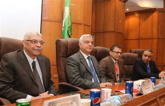 رئيس جامعة المنوفية يفتتح فعاليات المؤتمر 21 لقسم الباطنة بكلية الطب | صور