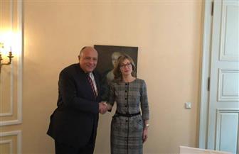 ننشر تفاصيل لقاء وزير الخارجية مع نظيرته البلغارية