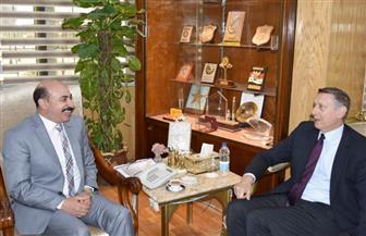 محافظ أسوان يستقبل سفير جمهورية ألمانيا الاتحادية | صور
