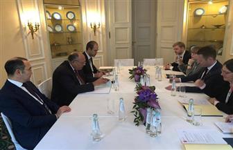 في مؤتمر ميونخ للأمن.. شكري يبحث العلاقات الثنائية والقضايا المشتركة مع نظيره الدنماركي | صور