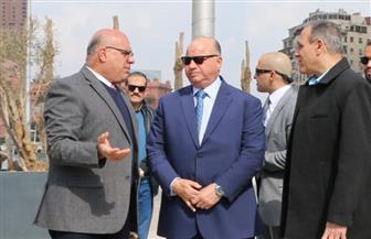 محافظ القاهرة يتابع تطوير ميدان التحرير استعدادا لنقل المومياوات الملكية | صور