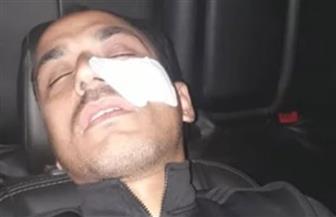 إصابة الحكم عماد العقاد في مباراة طوخ والبلاستيك