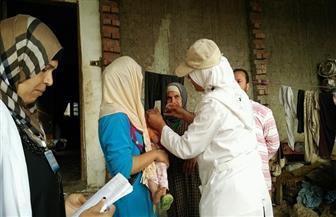 تطعيم 50% من الأطفال المستهدفين ضد شلل الأطفال بكفر الشيخ خلال اليوم الأول | صور