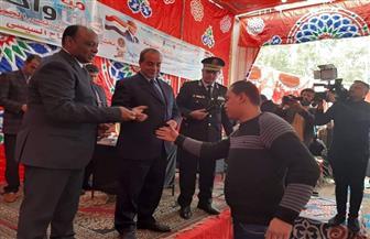 """مديرية أمن الغربية تنظم قافلة شاملة في قرية """"قصر بغداد"""" بمركز كفرالزيات   صور"""