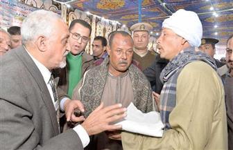 """محافظ أسيوط يشهد جلسة صلح لإنهاء خصومة ثأرية بين عائلتي """"علوي"""" و""""شيتا""""   صور"""