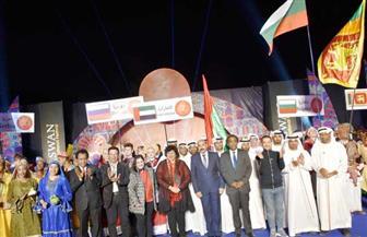 وزيرة الثقافة تشهد احتفالية مهرجان أسوان الدولي للثقافة والفنون