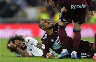 مدرب ريال مدريد يدافع عن مارسيلو بعد التعادل مع سيلتا فيجو