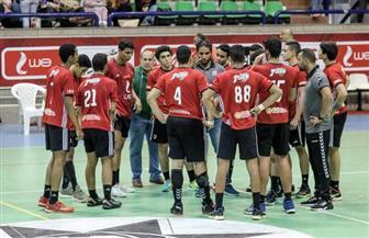 منتخب ناشيء اليد يواجه اليونان ظهرا والسعودية مساء اليوم في بطولة البحر المتوسط لكرة اليد