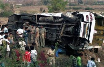 مصرع وإصابة 19 شخصا إثر سقوط حافلتهم من أعلى جسر غربي الهند