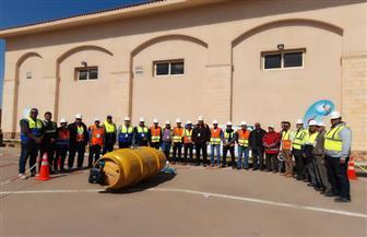 انطلاق مسابقة السلامة والصحة المهنية لشركات المياه والصرف الصحى | صور