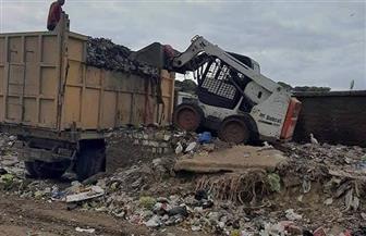 رفع 5 آلاف طن قمامة ومخلفات بناء وإزالة 740 حالة إشغالات بالفيوم | صور