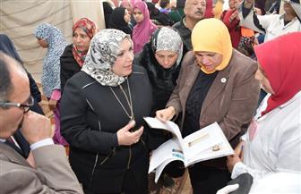 """""""هجرس"""" تتابع أعمال قوافل الإصحاح البيئي بقرية الحجاز بالإسماعيلية"""