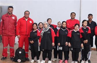 متطوعو الهلال الأحمر ببورسعيد يقدمون الإسعافات الأولية لـ 130 من ذوى الإعاقة الذهنية|صور
