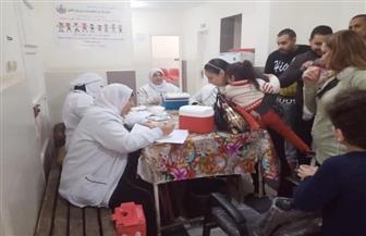 تطعيم 80% من الأطفال المستهدفين من الحملة القومية للتطعيم ضد مرض شلل الأطفال بكفرالشيخ | صور