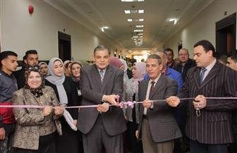 رئيس جامعة كفرالشيخ يفتتح معرض الاقتصاد المنزلي بكلية التربية النوعية | صور