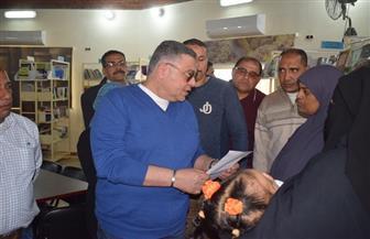 محافظ البحر الأحمر يتفقد مكتبة مصر العامة بمرسى علم|صور
