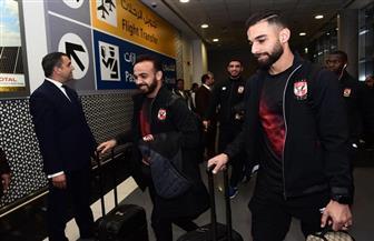 بعثة الأهلي تصل مطار أبو ظبي