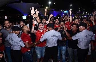 استقبال جماهيري لبعثة الأهلي في الإمارات| صور