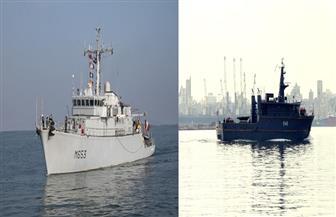 القوات البحرية المصرية والفرنسية تنفذان تدريبا بحريا عابرا بالبحر المتوسط