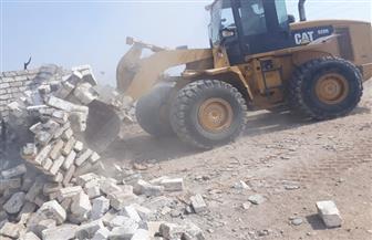 تنفيذ 71 حالة إزالة تعد على أملاك الدولة ومنافع النيل بسوهاج
