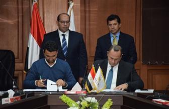 وزير الرياضة يشهد توقيع عقد اتفاق تركيب نظام التوقيت والنتائج الإلكتروني لمسابقات السباحة| صور
