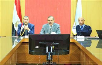 محافظ كفرالشيخ يبحث قرارات مجلس إدارة جهاز تنمية المناطق الصناعية بمطوبس وبلطيم |صور