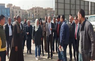 """مساعد نائب رئيس""""هيئة المجتمعات العمرانية"""" يقوم بجولات ميدانية بمدينة القاهرة الجديدة"""