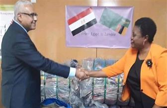 مصر تقدم مساعدات إنسانية إلى زامبيا