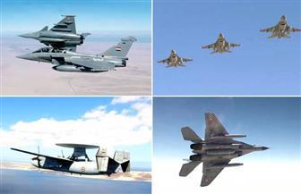 القوات الجوية المصرية والفرنسية تنفذان تدريبا بمشاركة حاملة الطائرات «شارل ديجول» | صور
