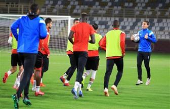 مران بدني قوي للاعبي الأهلي في الإمارات
