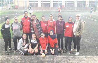 """""""الحرية المصري"""" يدشن أول فريق كرم قدم نسائية بمصر الجديدة"""