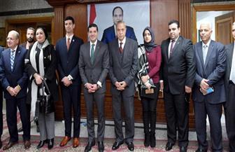 رئيس هيئة الاستثمار يلتقى ممثلي جمعيات المستثمرين بالقليوبية | صور