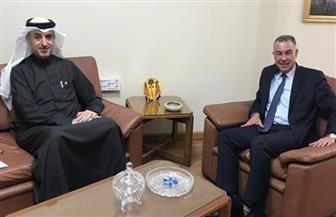 سفير البحرين بالقاهرة يلتقي مندوب مصر الدائم لدى جامعة الدول العربية