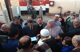 محافظ الغربية: ننسق مع الجهات المعنية لتوفير حياة كريمة بقرية كفر سليمان