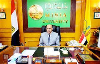 """""""جامعة المنيا"""" تبحث مع وفد الجامعة الأمريكية تنمية المهارات الوظيفية للطلاب والخريجين"""