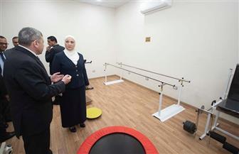 القباج تزور المجلس القومي لرعاية أسر الشهداء والمصابين بعد تجديده| صور