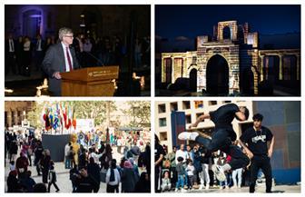 الجامعة الأمريكية بالقاهرة تختتم احتفالها ببداية مئويتها الثانية | صور