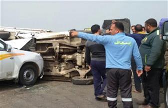 """نقل طفلتين للعناية المركزة والتحفظ على جثة سائق """"حادث الحضانة"""" بالقليوبية"""
