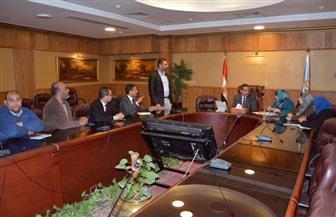 """محافظ الغربية يستعرض مع وفد """"العربية للتصنيع"""" تطبيق منظومة التحول الرقمي"""