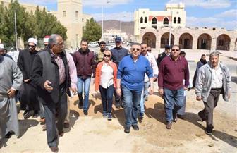 محافظ البحر الأحمر: محلات تجارية للباعة الجائلين ووحدات سكنية جديدة بقرية الشيخ الشاذلي | صور