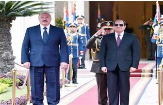 الرئيس السيسي يصطحب نظيره البيلاروسي في جولة تفقدية بالعاصمة الإدارية الجديدة