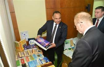 رئيس أكاديمية البحث العلمي يستقبل رئيس الأكاديمية الوطنية للعلوم ببيلاروسيا | صور