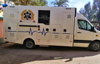 وصول 3 سيارات إسعاف ذاتية التعقيم لمكافحة العدوى في الأقصر | صور