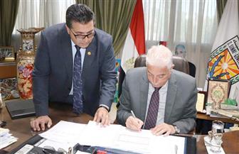 محافظ جنوب سيناء يعتمد نتيجة الفصل الدراسي الأول للشهادة الإعدادية