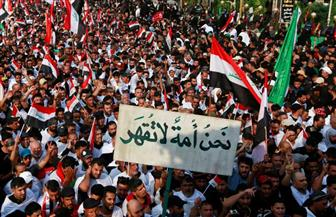 تظاهر آلاف العراقيين احتجاجا على تكليف محمد علاوي بتشكيل الحكومة