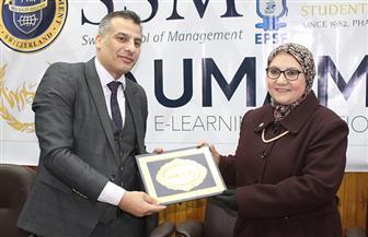 نائب رئيس جامعة طنطا يفتتح المؤتمر الأول لقيادات الشباب بكلية الصيدلة | صور