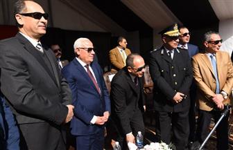 افتتاح وحدة تراخيص الملاكي الجديدة بالإسراء في بورسعيد | صور