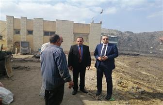 نائب محافظ الغربية يتابع أعمال نقل تراكمات القمامة من مصنع التدوير بالمحلة الكبرى| صور